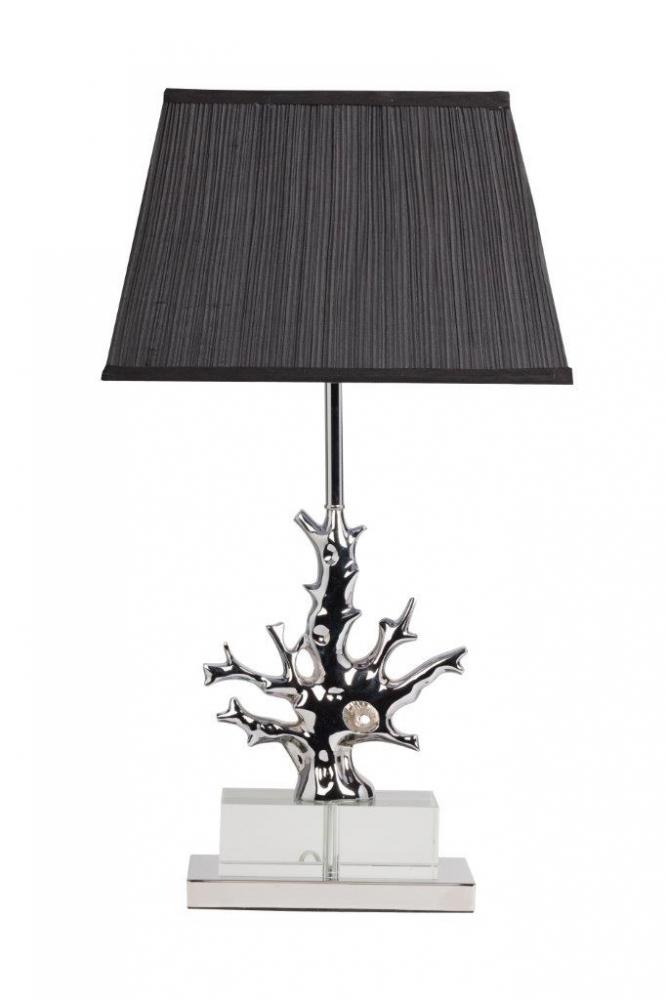 Настольная лампа Fabriano NoirНастольные лампы<br>Большая настольная лампа Fabriano Noir изготовлена <br>на стальном основании, корпус декорирован <br>хрусталем и гофрированным абажуром из чёрной <br>ткани. Лампа прекрасно дополнит любой интерьер <br>и создаст особую приятную расслабляющую <br>обстановку. Предназначена для использования <br>со светодиодными лампами. Размеры основания: <br>длина 35 см, ширина 28 см.<br><br>Цвет: Чёрный, Серебро<br>Материал: Металл, Ткань, Хрусталь<br>Вес кг: 4<br>Длина см: 38<br>Ширина см: 25<br>Высота см: 68