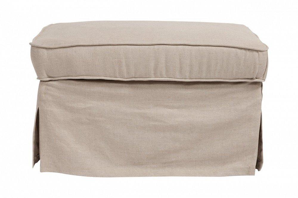 Пуф HanhyПуфы и оттоманки<br>Пуф Hanhy — надежный и долговечный вариант <br>с жестким деревянным каркасом, мягким сиденьем <br>из мебельного поролона, выполнен в виде <br>куба, с тканевым покрытием из натурального <br>льна бежевого цвета. Пуф имеет «второе дно» <br>— небольшую, но достаточно вместительную <br>ёмкость, расположенную под крышкой, в которую <br>можно сложить различные мелочи, отлично <br>подойдет к туалетному столику.<br><br>Цвет: Бежевый<br>Материал: Поролон, Ткань<br>Вес кг: 10,2<br>Длина см: 70<br>Ширина см: 50<br>Высота см: 45