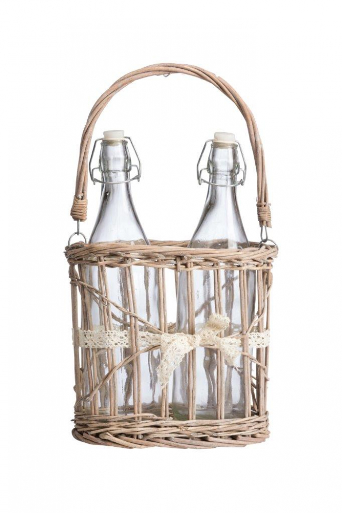 Набор для пикника в плетеной корзинке Picnic • Mini