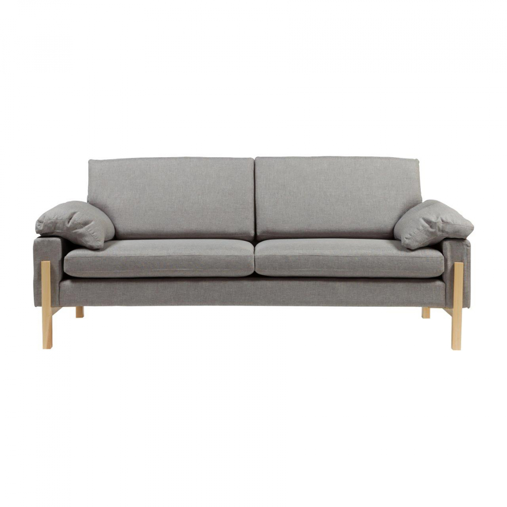 Диван Como Sofa Серый DG-HOME Изысканный диван Como Sofa станет превосходным  украшением вашей гостиной или любой другой  комнаты дома. Цветовое и дизайнерское решение  позволяют такому предмету мебели украсить  собой как классический, так и современный  интерьер, а, благодаря небольшим размерам,  диван не будет делать комнату громоздкой  и даже наоборот — поможет визуально сделать  пространство больше. Удобный и мягкий —  он непременно вам понравится.
