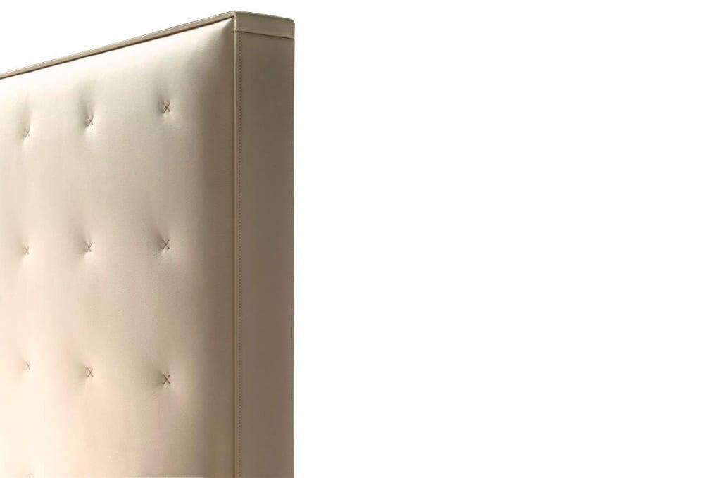 Кровать Knoff 180х200 Молочная Кожа Класса Премиум Р
