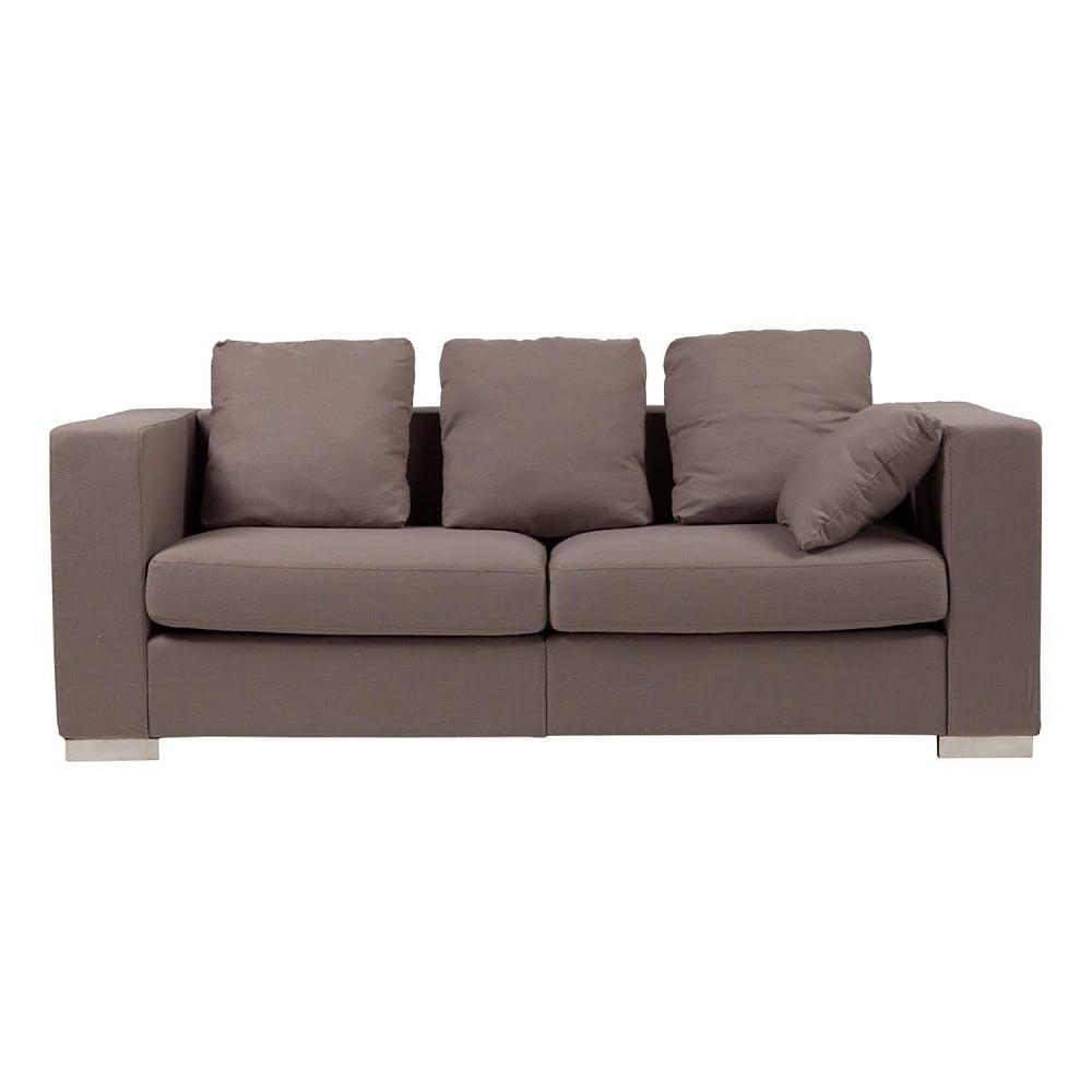 Диван Maturelli Sofa CoffeДиваны<br>Эффектная модель Maturelli Sofa Coffe выполнена <br>в лаконичном дизайне. Она придется по вкусу <br>тем, кто ценит комфорт и практичность. Кофейный <br>оттенок обивки придает образу шарм и изысканность. <br>Спинка и подлокотники расположены в одной <br>плоскости, что создает немного строгий <br>и монолитный силуэт. Maturelli Sofa Coffe с легкостью <br>впишется в просторный лофт-интерьер, став <br>связующим звеном при зонировании помещения.<br><br>Цвет: Коричневый<br>Материал: Ткань, Поролон, Дерево<br>Вес кг: 58<br>Длина см: 209<br>Ширина см: 90<br>Высота см: 72