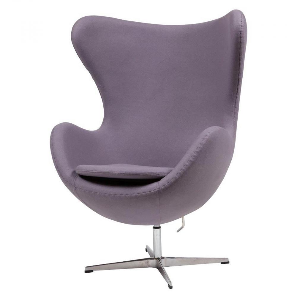 Кресло Egg Chair Лиловый Кашемир, DG-F-ACH324-12