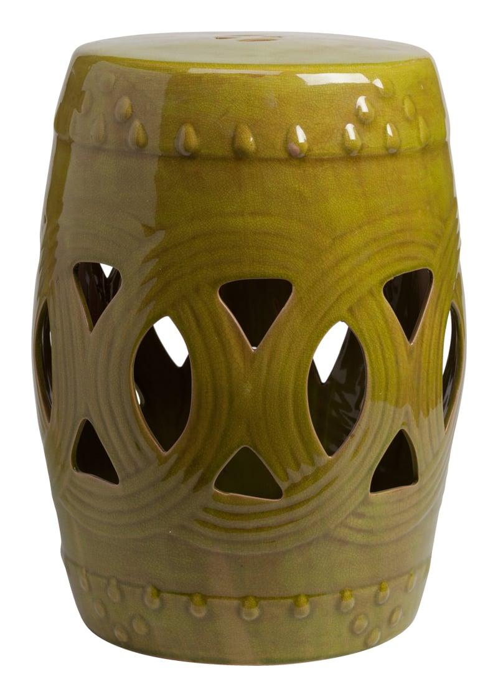 Купить Керамический столик-табурет Fence Stool Marsh в интернет магазине дизайнерской мебели и аксессуаров для дома и дачи