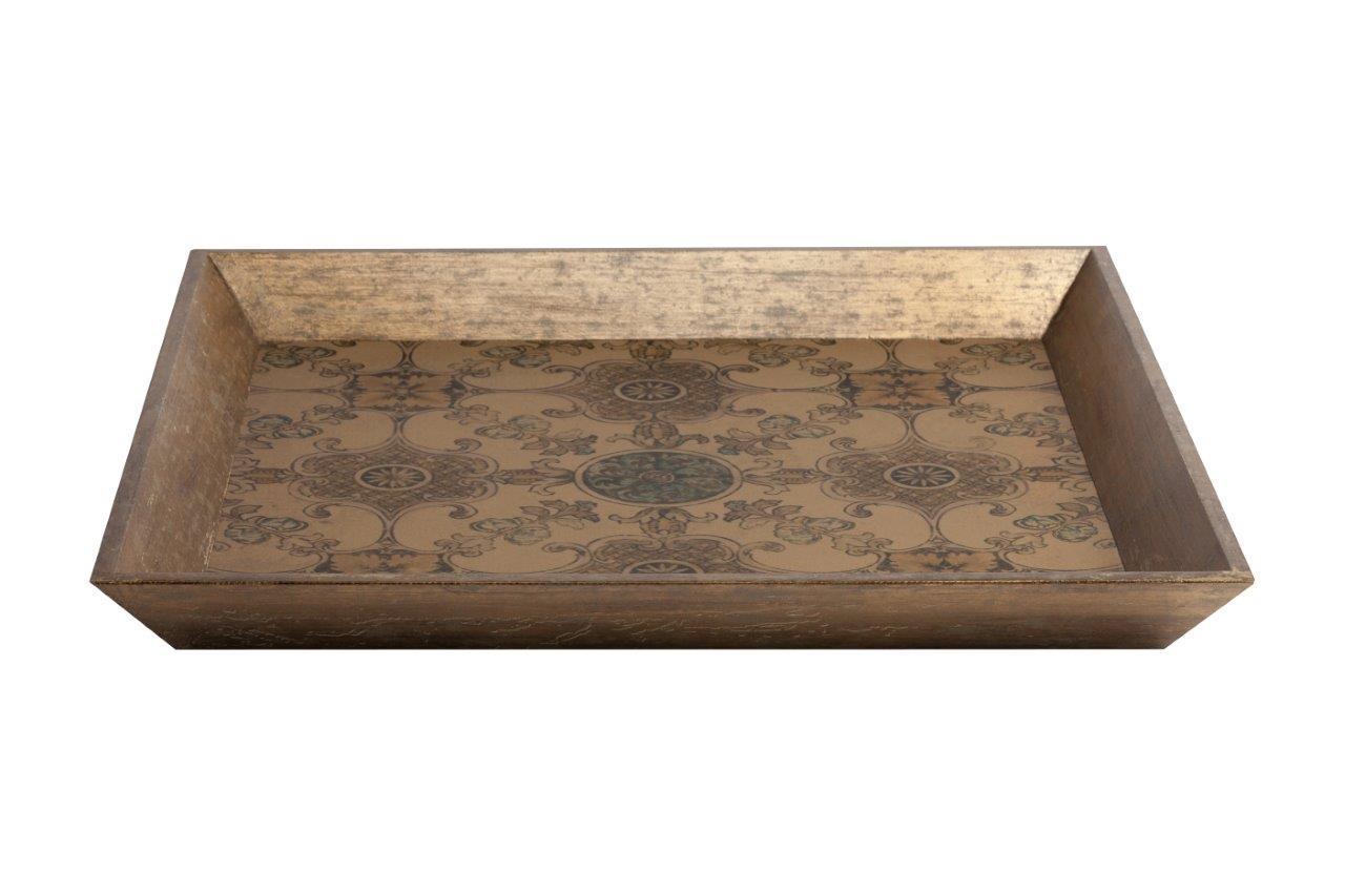Купить Декоративный поднос Cerulean в интернет магазине дизайнерской мебели и аксессуаров для дома и дачи