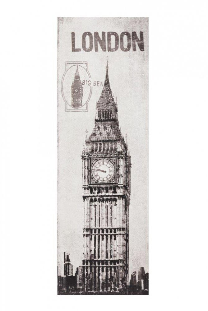 Декоративная настенная панель Big BenДекор стен<br>Биг-Бен — название самого большого из шести <br>колоколов Вестминстерского дворца в Лондоне, <br>часто это название ошибочно относят к часам <br>и Часовой башне в целом. Настенная панель <br>Big Ben с изображением Часовой башни в Лондоне <br>прекрасно впишется в любой интерьер, как <br>классический, так и современный.<br><br>Цвет: Серый<br>Материал: МДФ<br>Вес кг: 1,5<br>Длина см: 29,97<br>Ширина см: 3,05<br>Высота см: 89,92