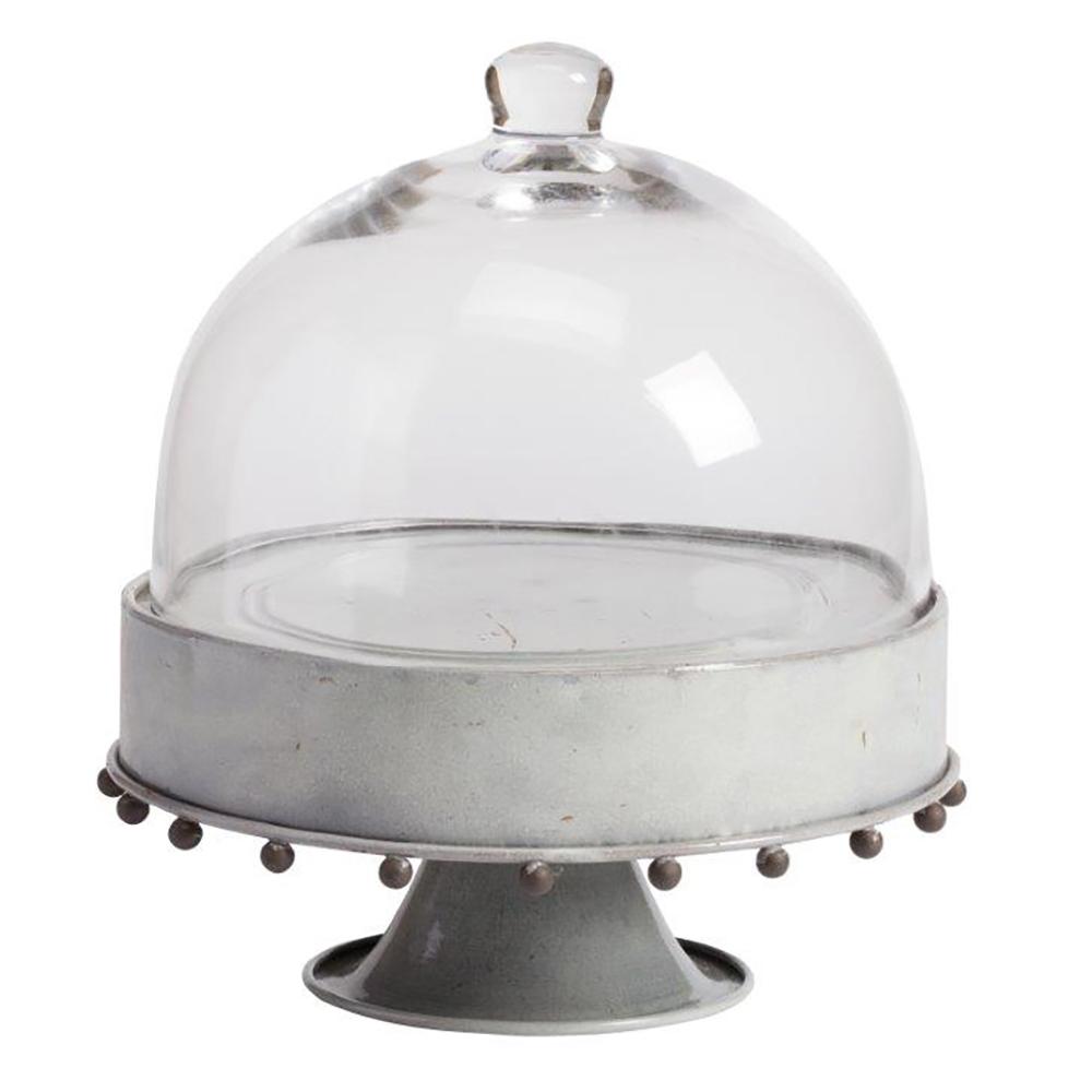 Сервировочный поднос с куполом на ножке Baguette Piccolo