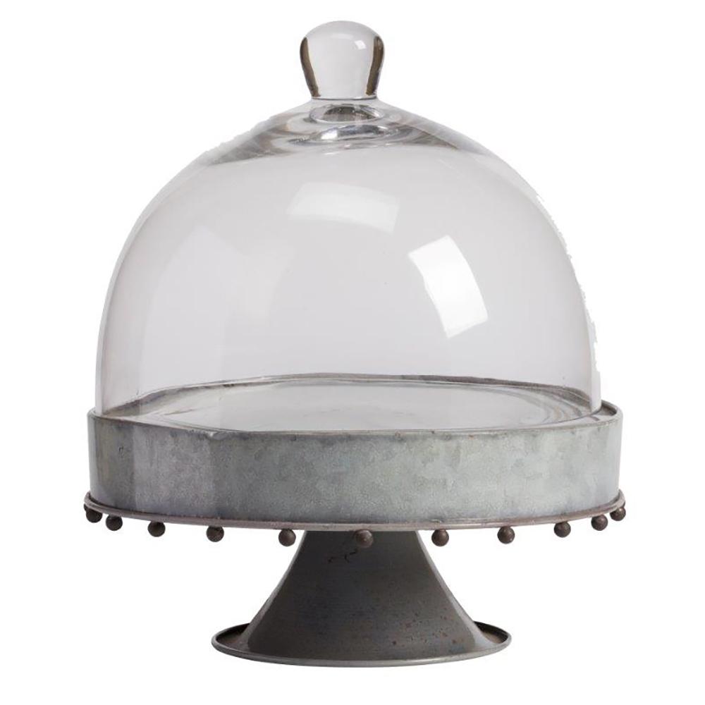 Сервировочный поднос с куполом на ножке Baguette Grande