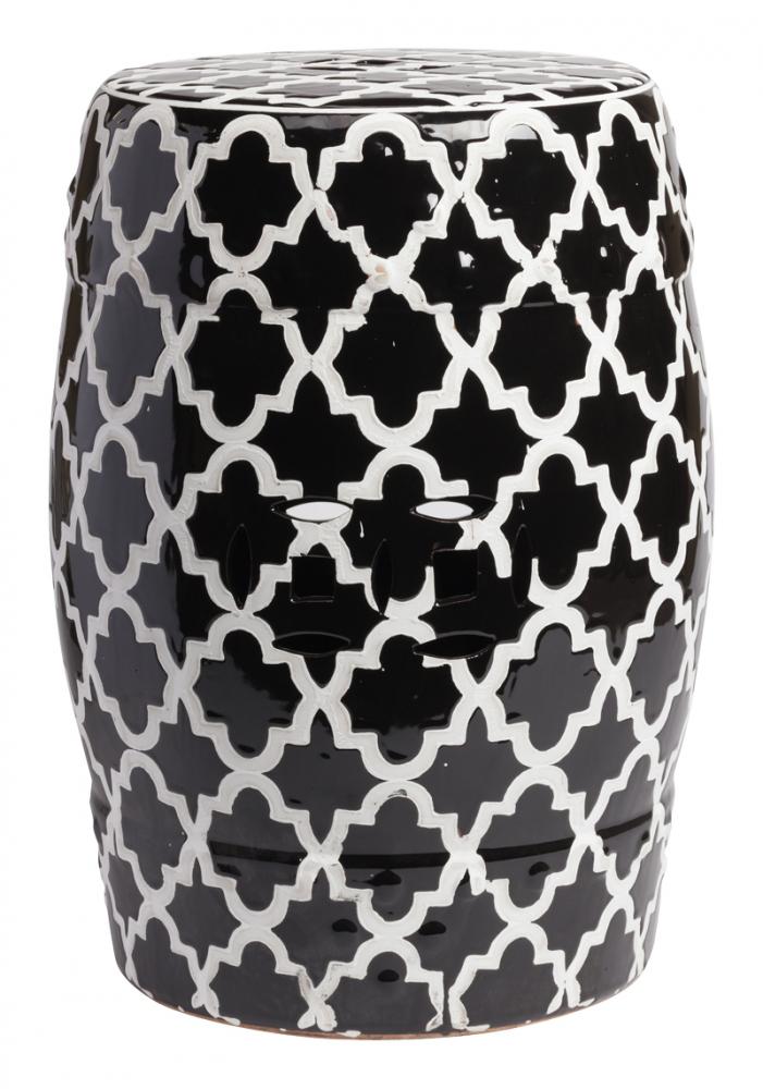 Керамический столик-табурет Istanbul Stool Black, • DG-F-TAB60
