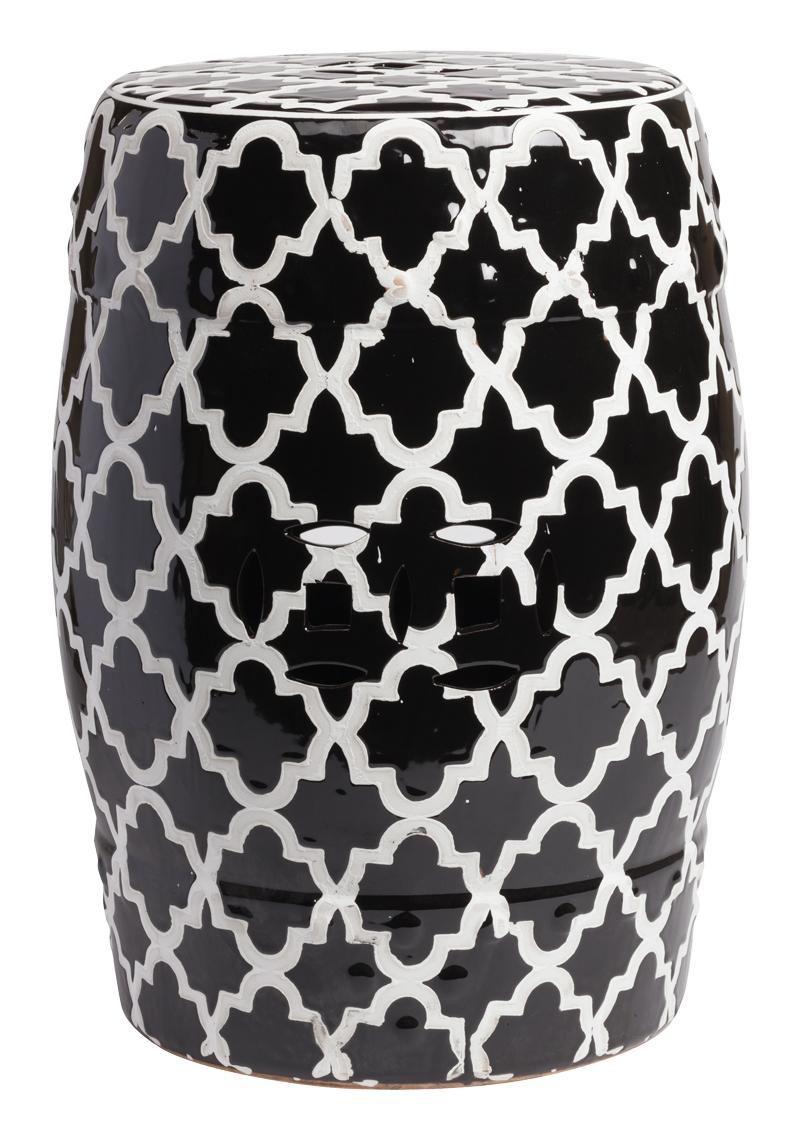 Купить Керамический столик-табурет Istanbul Stool Black в интернет магазине дизайнерской мебели и аксессуаров для дома и дачи