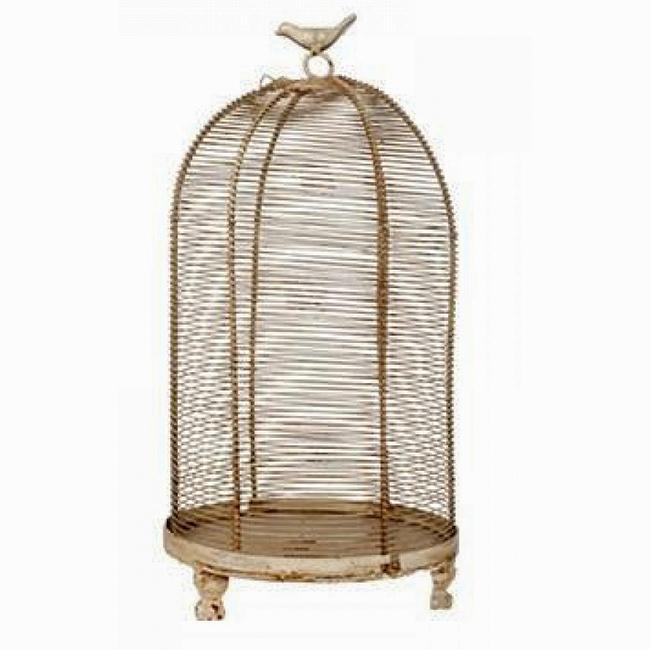 Декоративная клетка Flerentina PiccoloДекор для дома<br>Декоративная клетка Flerentina Piccolo изготовлена <br>из металла, ручка декорирована маленькой <br>птичкой, сидящей на кольце. Данный аксессуар <br>в стиле Прованс можно использовать в зависимости <br>от вашей фантазии в оформлении любого интерьера. <br>Оставить её пустой или запереть что-либо <br>внутрь, поставить на хранение — в этом вы <br>вольны сделать свой выбор. Ясно одно, этот <br>элемент декора однозначно привлечет внимание <br>ваших гостей.<br><br>Цвет: Коричневый, Бежевый<br>Материал: Металл<br>Вес кг: 1<br>Длина см: 19<br>Ширина см: 19<br>Высота см: 35