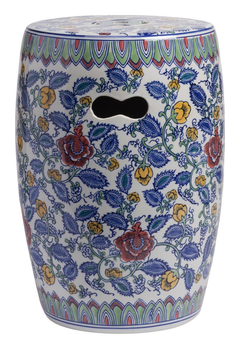 Купить Керамический столик-табурет Garden Stool Ermitage в интернет магазине дизайнерской мебели и аксессуаров для дома и дачи