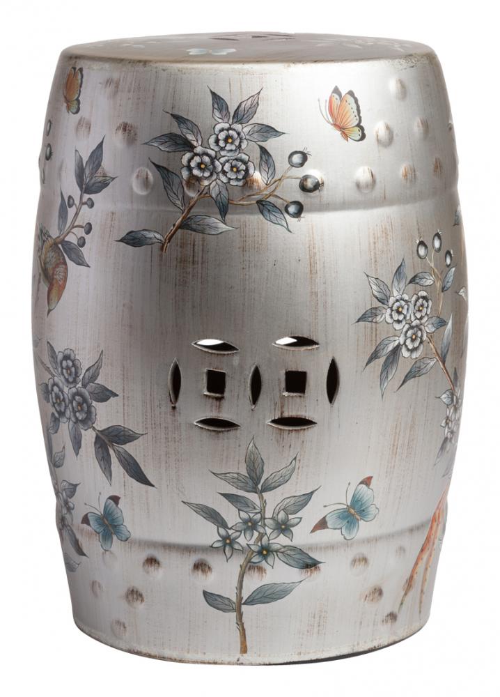 Фото Керамический столик-табурет Garden Stool China. Купить с доставкой