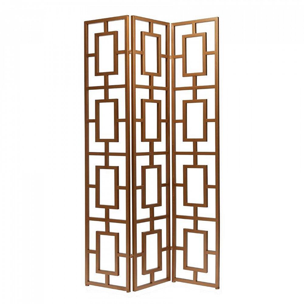 Декоративная ширма Lissome, DG-D-1124  Декоративная ширма Lissome — это незаменимый  элемент декора дома, оформленного в современном  стиле. Она может служить украшением любой  комнаты, либо стать перегородкой, отделяющей  зону отдыха от общего пространства. Ширма  изготовлена из металла, геометрический  дизайн на первый взгляд прост, но именно  этим и привлекает внимание. Представьте  эту ширму в той комнате, в которую хотели  бы её поставить и вы поймете — это то, что  вы так долго искали.