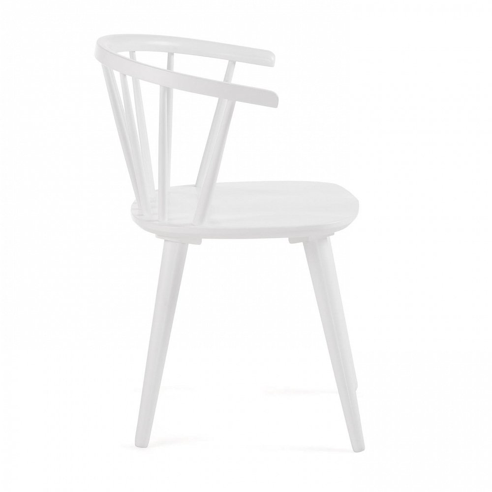 KRISE Стул деревянный белый CC0219M05 от La Forma (ex Julia Grup)
