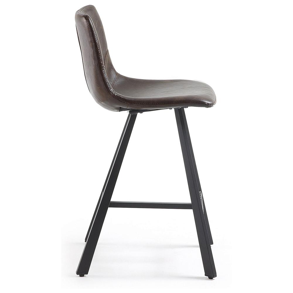 Барный стул TRAC темно-коричневый от La Forma (ex Julia Grup)