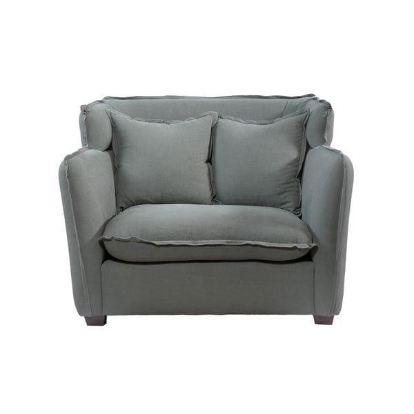 Кресло ADANA Серый / Голубой