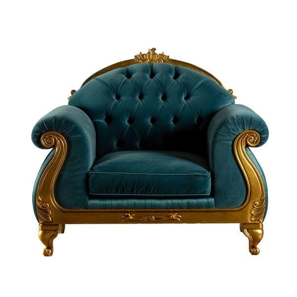 Кресло STRADIVARI Изумрудное