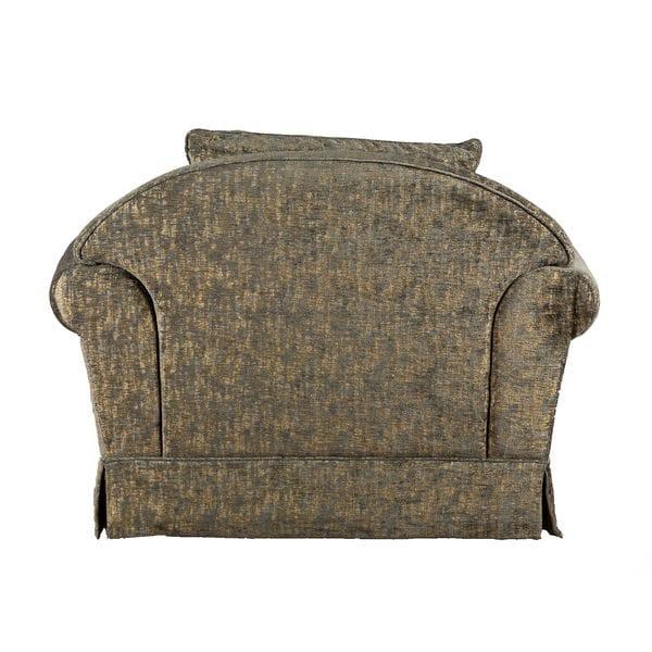 Кресло ROMANO серо-зелёное