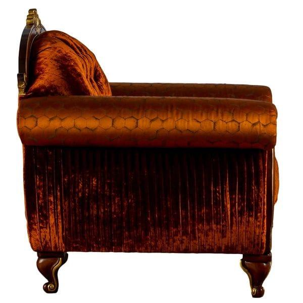 Кресло STRADIVARI оранжевое