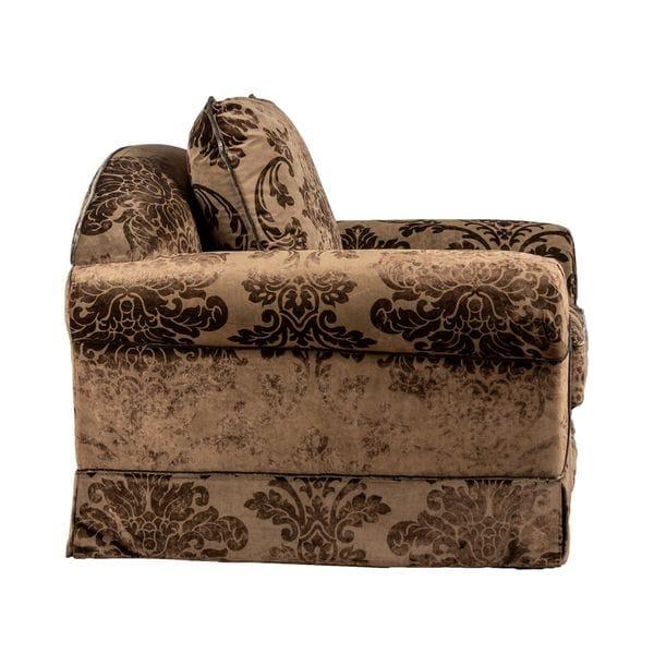 Кресло ROMANO коричневое
