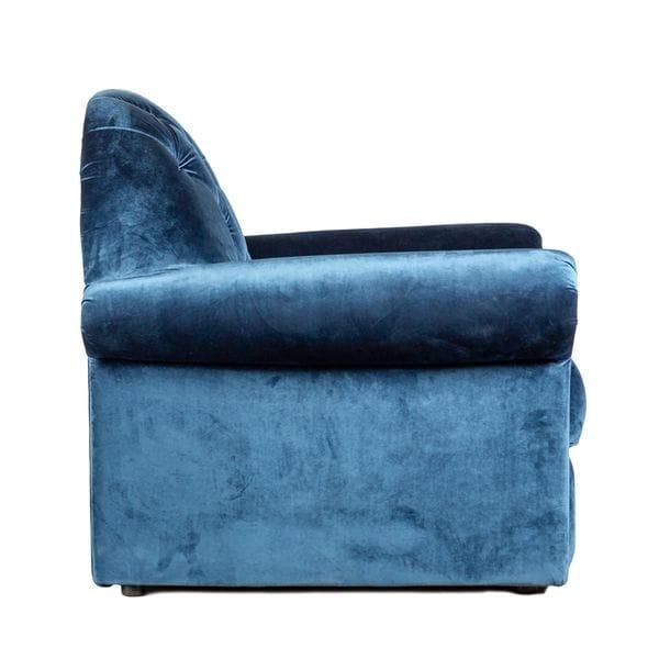 Кресло TESORO синее