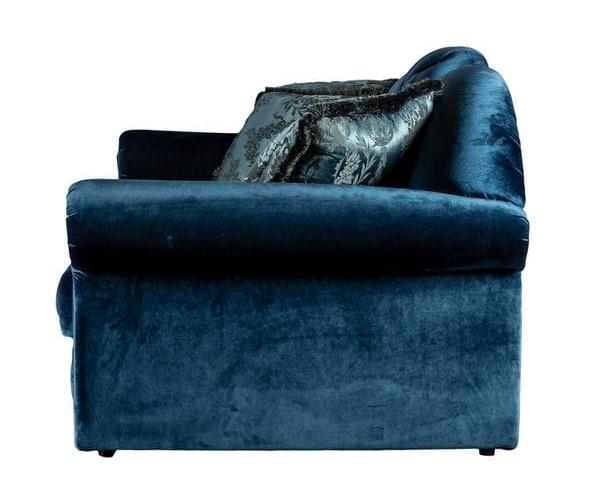 Диван TESORO Темно-синий