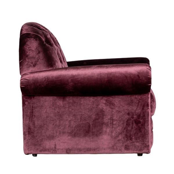 Кресло TESORO сиреневое 100*95*114