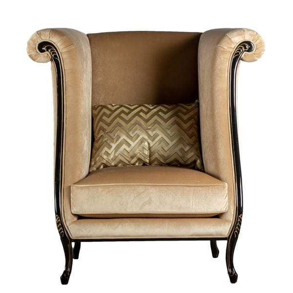 Кресло FIORE светло-коричневое