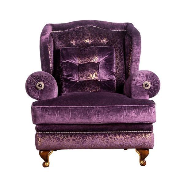 Кресло CELLINI фиолетовое