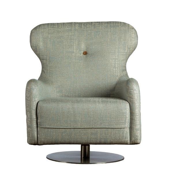 Кресло POINT серо-голубое