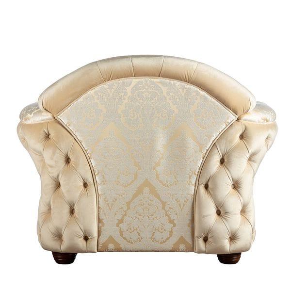 Кресло BELLISIMO Светло-бежевый