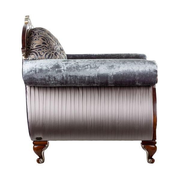 Кресло STRADIVARI серо-голубое
