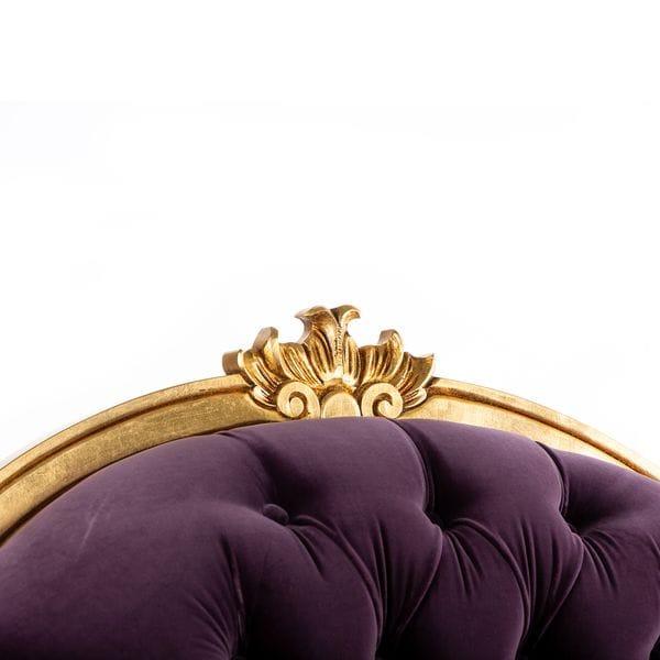 Кресло STRADIVARI фиолетовое