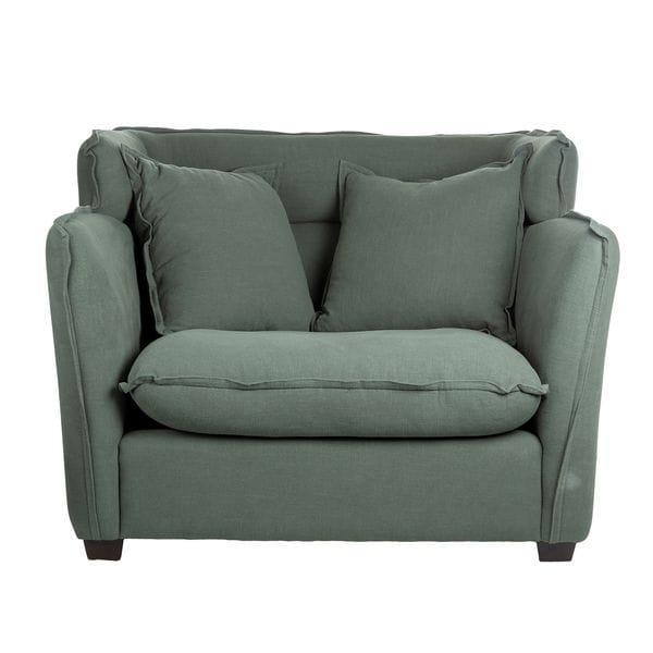 Кресло ADANA Серый / Зелёный