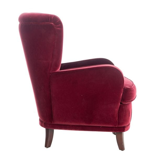 Кресло GIOTTO бордовое