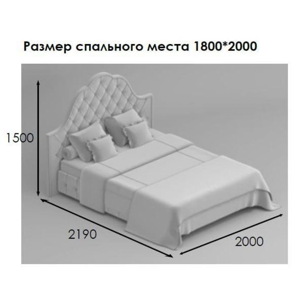 Кровать SOLARI 180*200