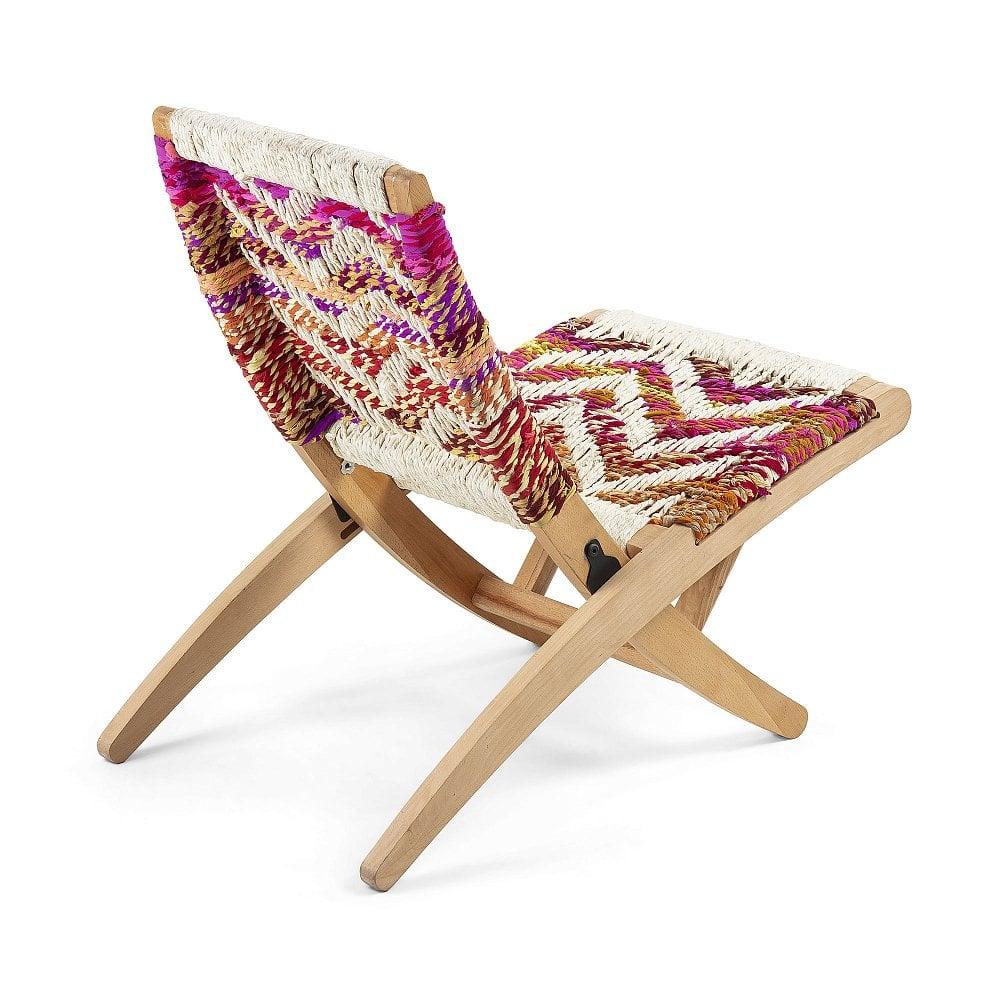 HEANE Кресло из дерева манго многоцветное от La Forma (ex Julia Grup)