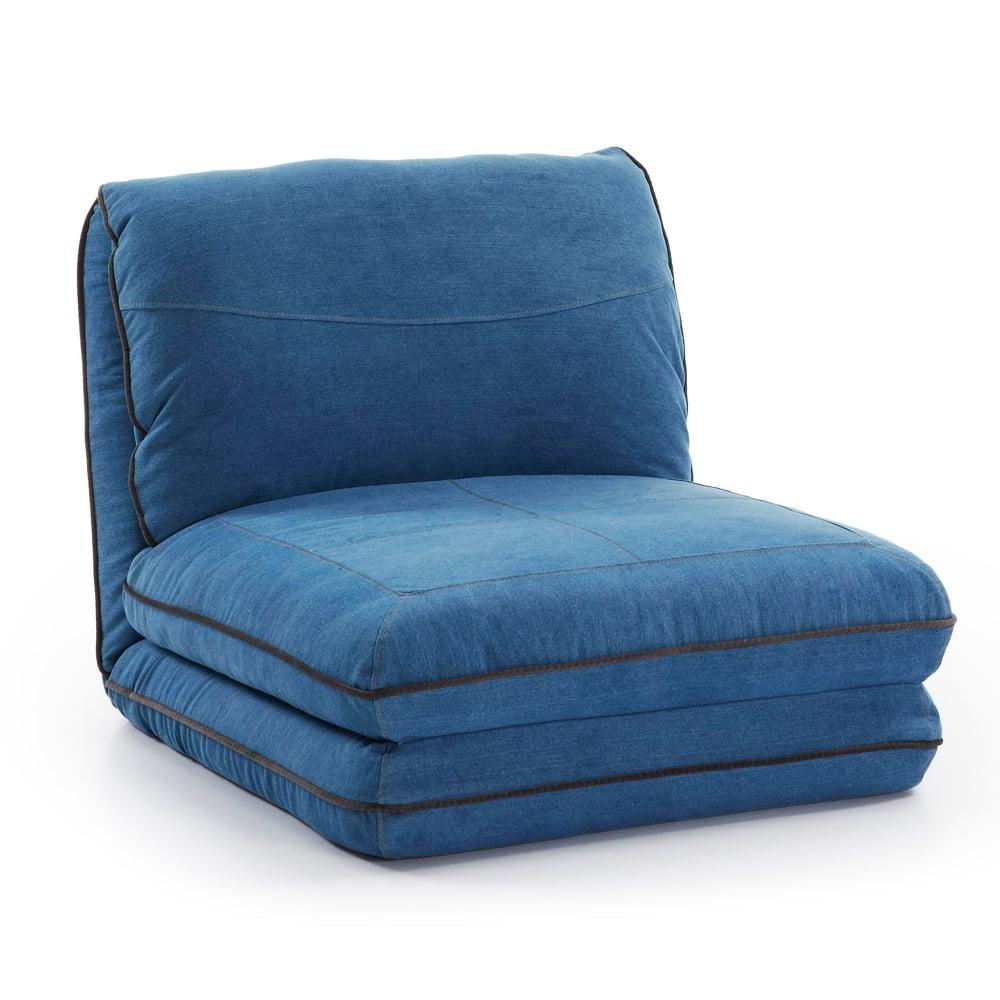 Кресло MOSS Кресло 75 Джинс Синий