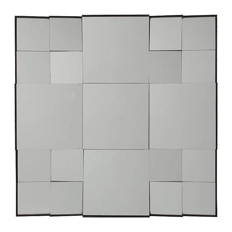 Зеркало MontadaЗеркала<br>Оригинальное зеркало способно создать <br>хорошее настроение, новое впечатление, <br>подчеркнуть или полностью изменить интерьер <br>вашего дома. Зеркало Montada состоит из множества <br>зеркальных квадратов разного размера, расположенных <br>под разными углами, что придает ему необычный <br>объемный вид. Несомненно, оно замечательно <br>впишется в интерьер вашего дома. Поразите <br>своих гостей!<br><br>Цвет: Зеркальный<br>Материал: МДФ, Зеркало<br>Вес кг: 12,6<br>Длина см: 76<br>Ширина см: 5<br>Высота см: 76