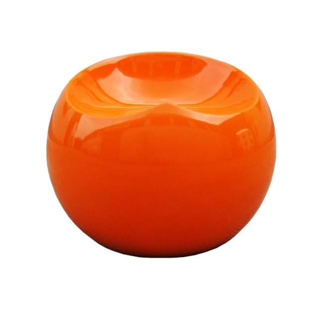 Табурет Finn Stone Ball Chair Оранжевый, DG-F-TAB69 от DG-home