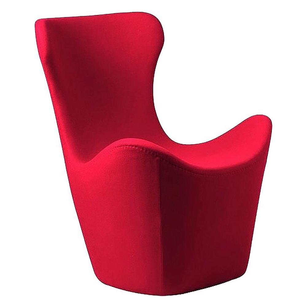 Кресло Papilio Lounge Chair Красное Кашемир, DG-F-ACH465-1