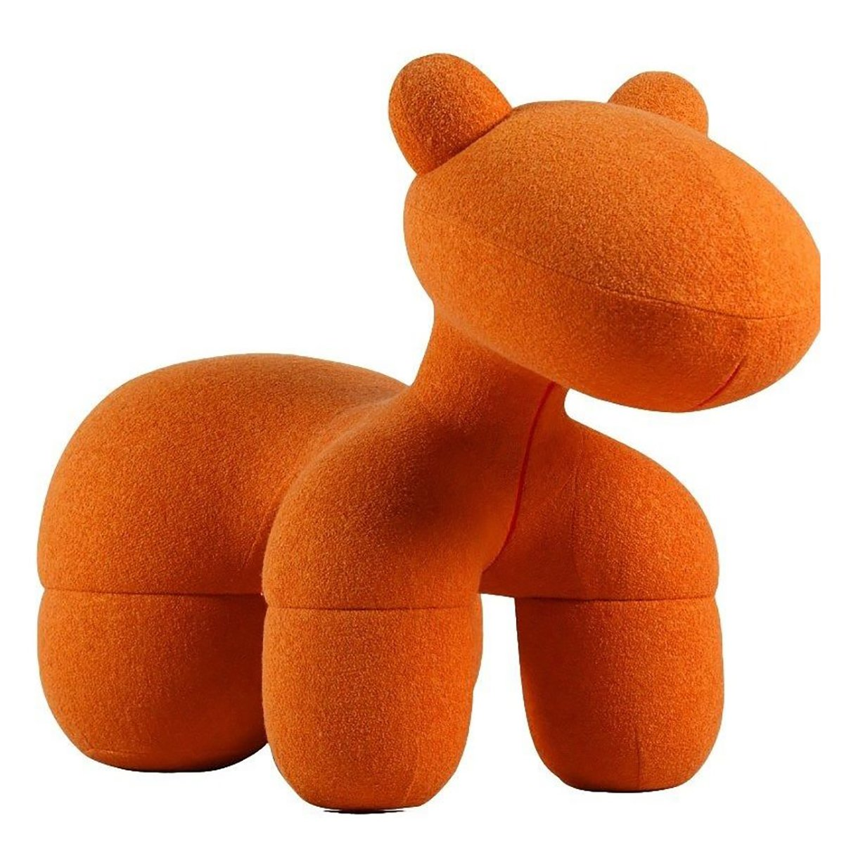 Купить Детское кресло Pony Chair Оранжевое Шерсть в интернет магазине дизайнерской мебели и аксессуаров для дома и дачи