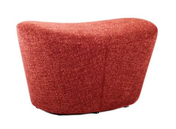 Купить Оттоманка Papilio Lounge Chair Красный Кашемир в интернет магазине дизайнерской мебели и аксессуаров для дома и дачи