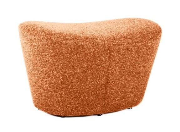 Оттоманка Papilio Lounge Chair Оранжевая КашемирПуфы и оттоманки<br>Оттоманка Papilio Lounge Chair японского дизайнера <br>Наото Фукасава (Naoto Fukasawa) — идеальный союз <br>с креслом от того же мастера. Обивка оттоманки <br>изготовлена из натурального кашемира, поэтому <br>вашим ногам будет очень комфортно на ней. <br>Обязательно купите её в дополнение к креслу <br>Papilio Lounge Chair!<br><br>Цвет: Оранжевый<br>Материал: Ткань<br>Вес кг: 5<br>Длина см: 53<br>Ширина см: 43<br>Высота см: 48