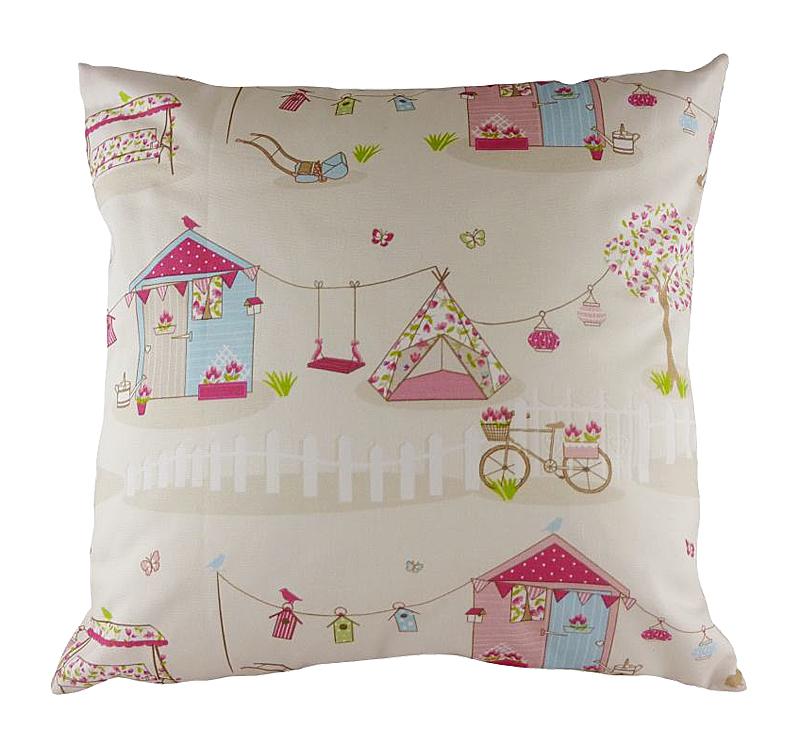 Подушка с принтом Summer Holiday Pink