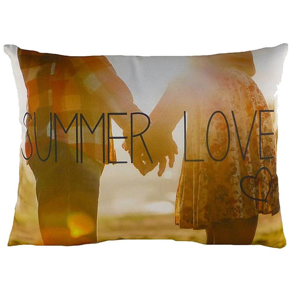 Подушка с принтом Summer Love