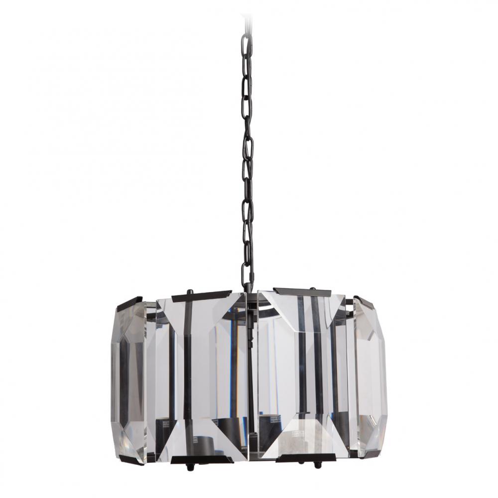 Люстра MadelinЛюстры<br>Светильники и люстры являются неотъемлемой <br>частью каждого интерьера в доме, квартире <br>или в офисе. Правильно подобранное освещение <br>пособно дополнить или полностью изменить <br>ваш взгляд на комнату. Основание люстры <br>MADELIN изготовлено из коричневого металла <br>в виде круглого каркаса, по периметру которого <br>расположены вставки из изящного граненого <br>хрусталя. От люстры невозможно отвести <br>взгляд: настолько она роскошна! Ваши апартаменты <br>будут не только освещены, но и ослепительны! <br>Люстра MADELIN идеально подойдет в любую комнату <br>как светлых, так и темных тонов, подчеркивая <br>ваш непревзойденный вкус и умение верно <br>расставлять акценты при оформлении помещения. <br>Упаковано в 2 коробки размерами 48*48*40 см <br>и 45*33*23 см.<br><br>Цвет: Чёрный, Прозрачный<br>Материал: Металл, Хрусталь<br>Вес кг: 19,3<br>Длина см: 48<br>Ширина см: 48<br>Высота см: 30