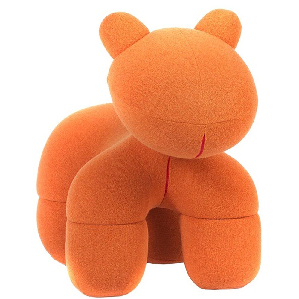 Купить Детское кресло Pony Chair Оранжевое Кашемир в интернет магазине дизайнерской мебели и аксессуаров для дома и дачи