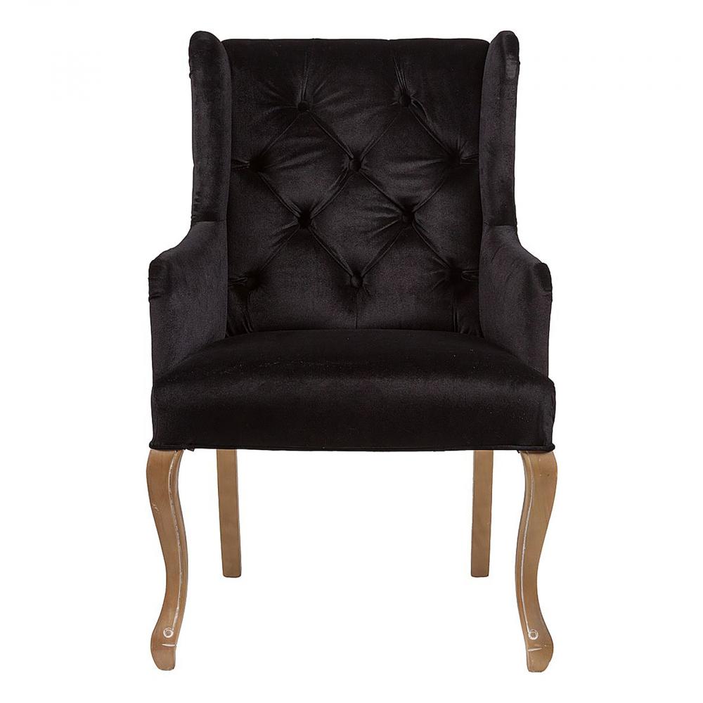 Кресло Ashby Chair Черный Вельвет, DG-F-ACH467 от DG-home